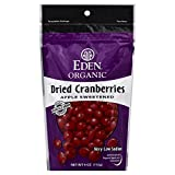 Eden Cranberries Organic Dried 4.0 OZ(Pack of 4)