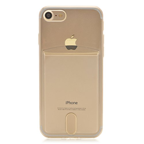 the latest 85552 fa952 iProtect Apple iPhone 7, 8 Flexible TPU Soft Case with Extra Compartment  for your Polaroid Instax Mini Photos