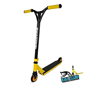 SWAGTRON ST045 Pro Scooter – Freestyle Stunt Scooter for BMX or Beginner Riders – Kids or Adults – Supports up to 260 lbs