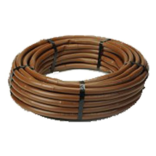 K-RAIN KA5-12P-CV 1 GPH Drip Line Coil with Spacing, 17 mm/1000', Brown