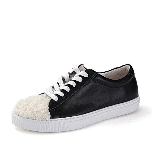 Caída de costura zapatos/Ronda de cabeza baja y las mujeres skate zapatos A