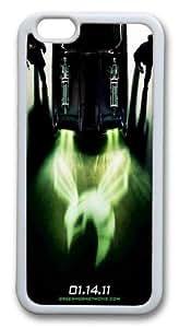 iPhone 64.7pulgadas Caso y cubrir el avispón verde TPU de goma de silicona para iPhone 6(4,7) color blanco