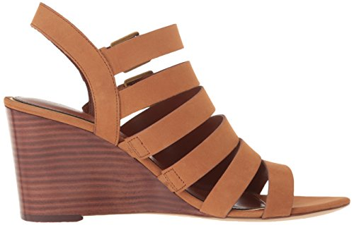 Casual Lauren Open Tan Toe Sand Leather by Lauren Aleigh Womens Strap Ralph Ankle qxEAxC8w