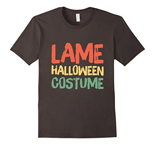 Mens Lame Halloween Costume - Easy Halloween Costume Shirt Large (Lame Funny Halloween Costumes)