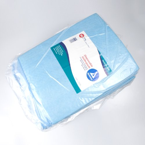 Disposable Underpads, 30x30 (105 gram) - 2 packs of 50/Case