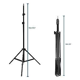 LimoStudio Photo Studio Barndoor Light 400W Continuous Lighting Kit, AGG949