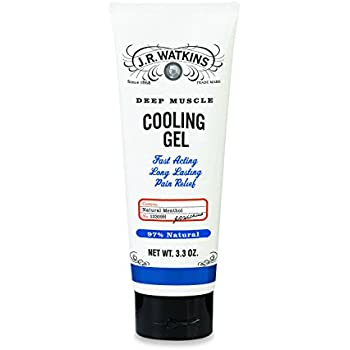 J.R. Watkins Deep Muscle Cooling Gel, 3.3 Ounce