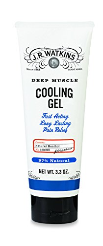 J.R. Watkins Deep Muscle Cooling Gel, 3.3 Ounce