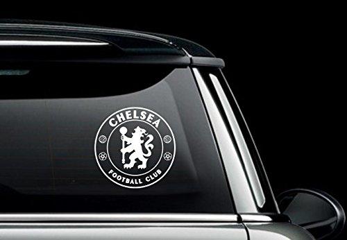 Maple Enterprise Chelsea Football Club Logo Vinyl Decal Sticker White
