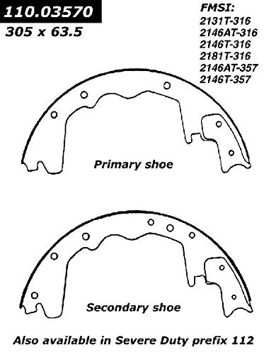 OE Replacement for 1975-1980 Plymouth PB300 Rear Drum Brake Shoe (Voyager) (Brake Plymouth Pb300 Drum)