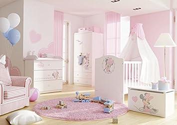Schlafzimmer Set Kindermöbel Minnie Mouse Jugendzimmer Komplett
