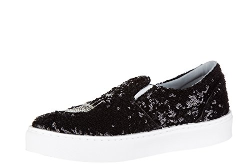 Chiara Ferragni slip on donna nuove sneakers originali flirting nero