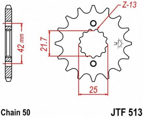 JT 530 Pitch 50 Tooth Rear Sprocket JTR816.50 for Suzuki