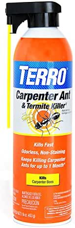 Terro Carpenter Ant & Termite Killer, 1 Pack, Orange