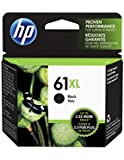 HP 61XL Black Ink Cartridge,  EAS Sensormatic