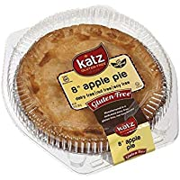 Katz Gluten Free Family Size Apple Pie | Dairy, Nut, Soy and Gluten Free | Kosher (1 Pack of 1 Pie, 20 Ounce)