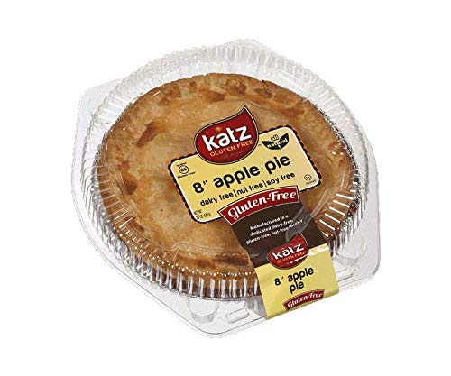 Katz Gluten Free Family Size Apple Pie   Dairy, Nut, Soy and Gluten Free   Kosher (6 Packs of 1 Pie, 20 Ounce Each)