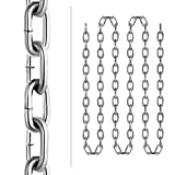 Mophorn Grade 30 Chain 0.25 Inch by 20Ft Length
