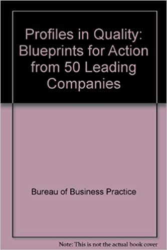 Profiles in quality blueprint for action bureau of business profiles in quality blueprint for action malvernweather Gallery