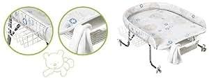 Geuther 4815 018 - Cambiador de pañales regulable en altura [Importado de Alemania]
