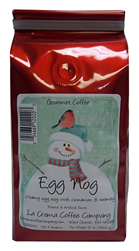 La Crema Coffee Company 2 Piece Egg Nog, 12 -