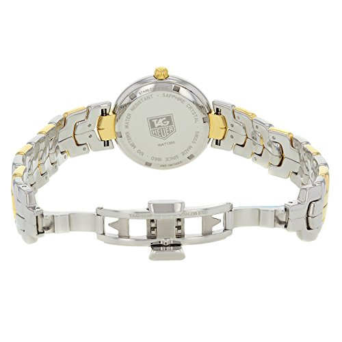 Tag Heuer Link quartz womens Watch WAT1350.BB0957 (Certified Pre-owned) by TAG Heuer (Image #1)