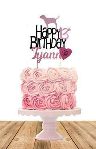 Victoria Secret Inspired Cake Topper