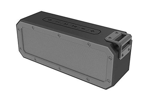 JackMusic SP05 Bluetooth 4.2 SYSTEM 40W Bluetooth Speaker with 15-Hour Playtime, Stereo Pairing, TWS, IPX 7 Waterproof, Dustproof and Shockproof, Deep Bass for Home Office Meeting Outdoor Travel