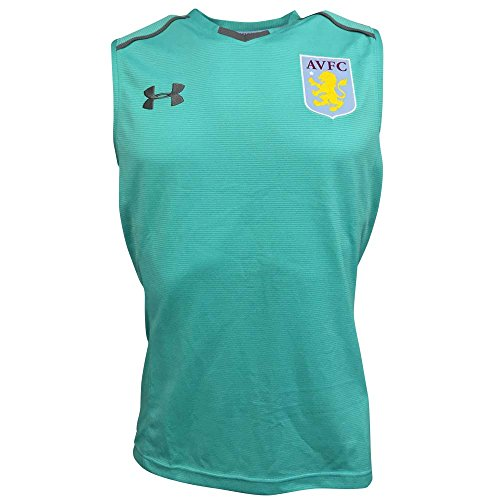 2017-2018 Aston Villa Sleeveless Training Tee (Mosiac) Aston Villa Training