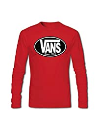 Vans Classic Logo Graphic For Boys Girls Long Sleeves T-shirts Tops