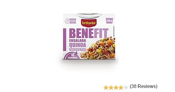 Brillante Benefit Ensalada Quinoa Verduras 200G - [Pack De 16 ...
