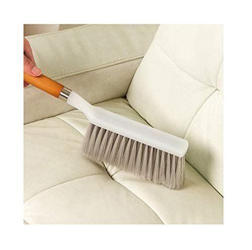 Woogor Bristle and Wood Carpet and Upholstery Long Handle Dust Cleaning Brush, 36×7.5cm (Random) Price & Reviews