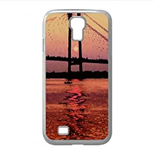 Sunset Watercolor style Cover Samsung Galaxy S4 I9500 Case (Drawings Watercolor style Cover Samsung Galaxy S4 I9500 Case)