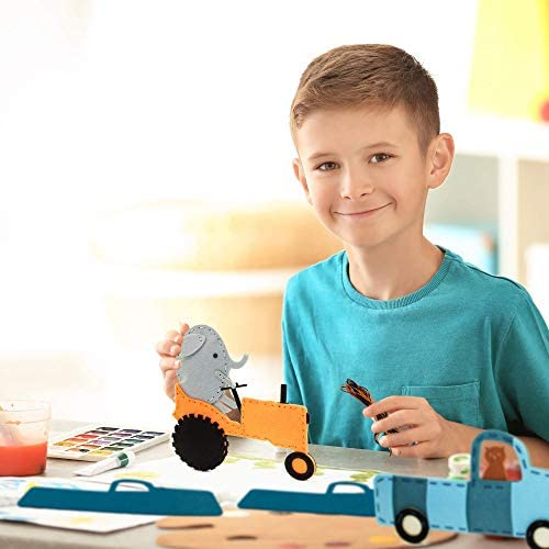 Rocket ship wooden  sewing card for boys; children learning to sew with needle; wooden sewing kit for kids