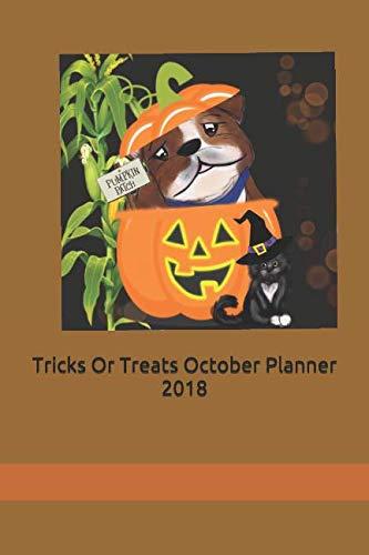 Tricks Or Treats October Planner 2018