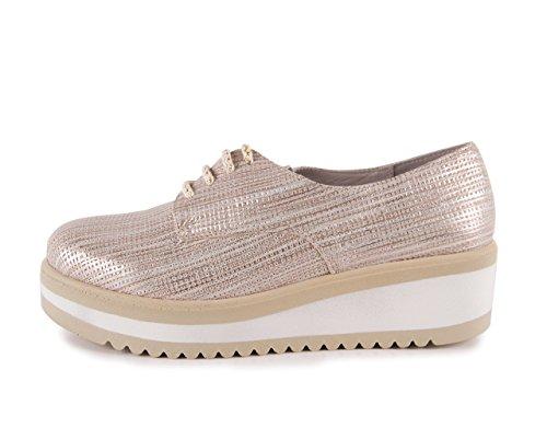 Chamby Zapato Cordones Selena Oro