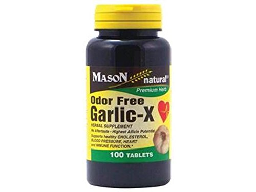 GARLIC 400 mg Best Deal More Power 100 Tablets Odor Free Concentrate Odorless 1 Bott