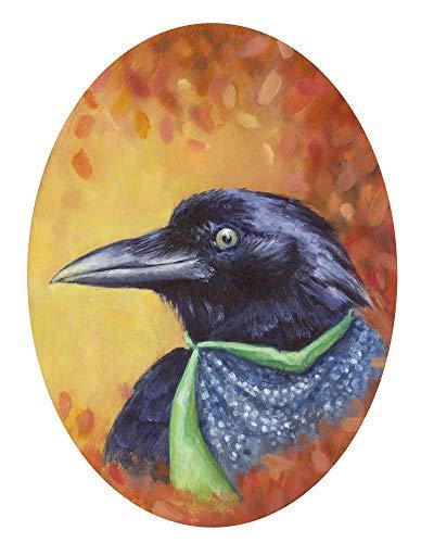 Black Crow, Raven Super Hero Art Print Poster