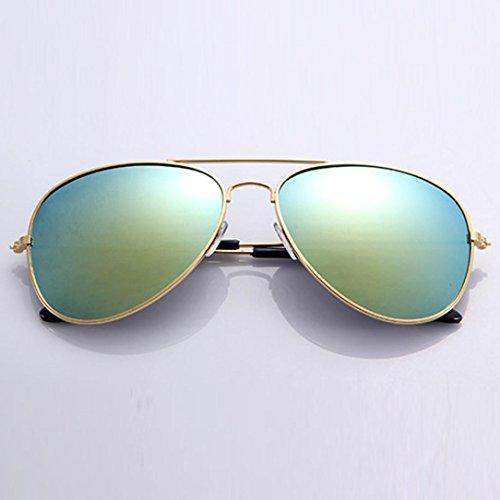 ASHOP de sol clásico diseñador de D Gafas de de unisex E metal 8w7Yz