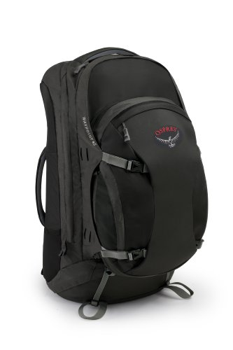 Osprey Women's Waypoint 85 Travel Backpack, Black, Medium, Outdoor Stuffs