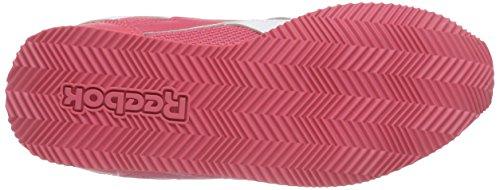 Reebok Royal Cljog 2 - Zapatos de primeros pasos Bebé-Niñas Rosa / Amarillo / Blanco (Fearless Pink/Solar Yellow/White)