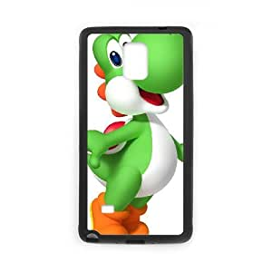 Samsung Galaxy Note 4 Cell Phone Case Black Super Smash Bros Yoshi BNY_6775994