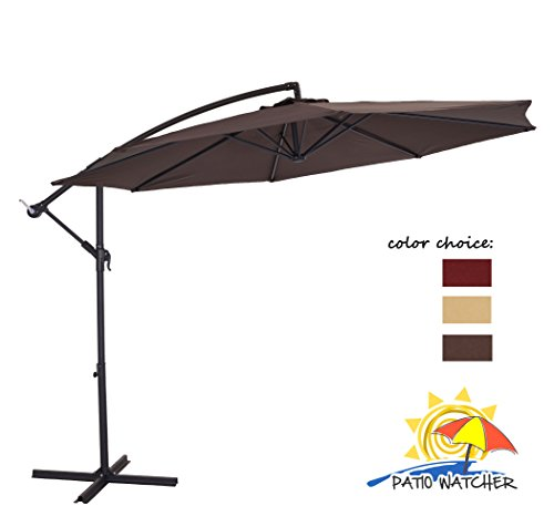 Patio Watcher Resistant Polyester Chocolate