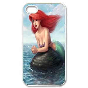 Fashion Sexy The little Mermaid phone Case Cove For Iphone 4 4S case cover XXM9125706