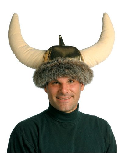 Adult Deluxe Viking Costume Hat (Adult Viking Costumes)
