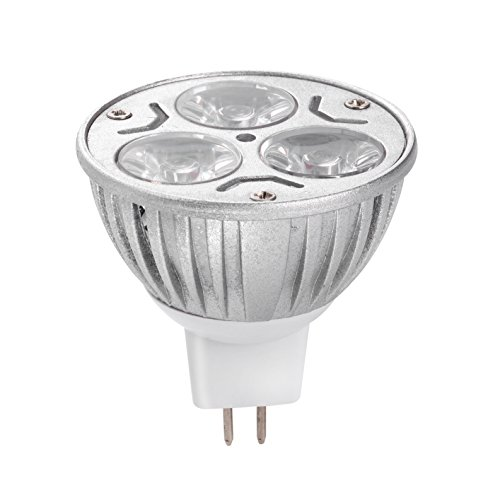 Jinda® 12v Dc 3 W Mr16 2.16*2.16(in) Spot Light Bulb Indoor Warm White 3500k Aluminum Electricity-saving Lamp Cup and Ceiling Pendant Lighting Fixtures for House