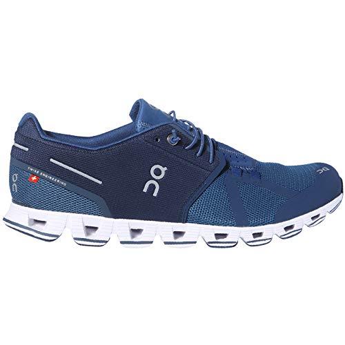 - On Running Mens Cloud Shoes Blue/Denim (8.5 M US)