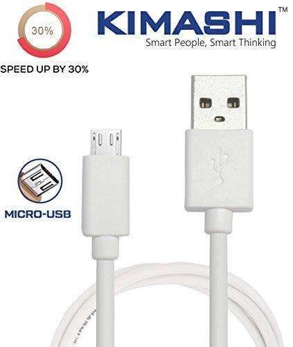 Kimashi KIMTC1W Micro USB Cable   3.3 Feet  1 Meter     White