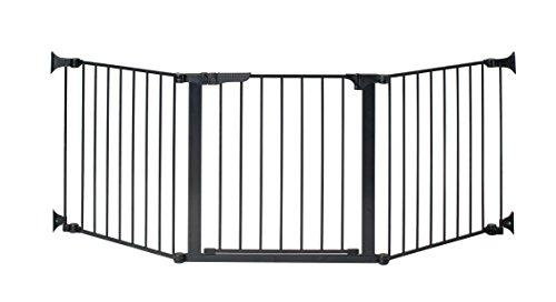 KidCo Auto Close Configure Gate with Door, Black, 24