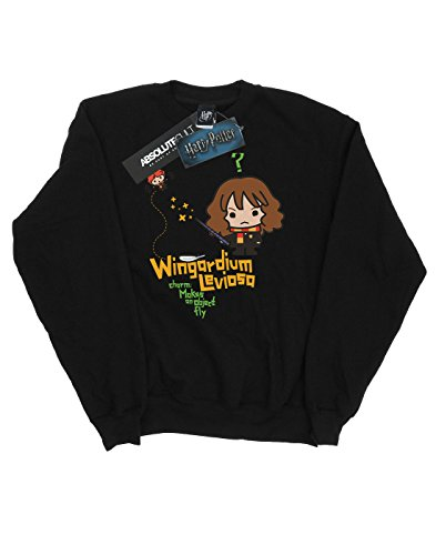 Leviosa Junior Wingardium Noir Hermione Homme shirt Granger Harry Potter Sweat IYqOX